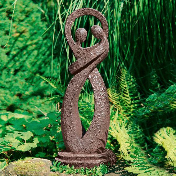 Garten Skulptur Harmonie Mein Schrebergarten