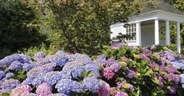 Pavillion leicht erhöhte Lage freier Blick auf Garten
