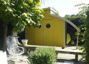 Gartenhaus als Gerätehaus Aufbewahrung Gartenzubehör