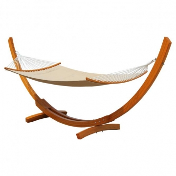 anndora luxus h ngematte mit gestell 4 1m quillt. Black Bedroom Furniture Sets. Home Design Ideas