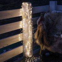 LED-Lichterkette Knirke für außen, 200-flg.