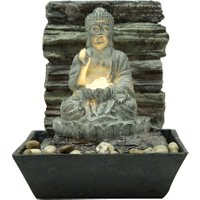 Silex Zimmerbrunnen Buddha 25,5 cm x 21,7 cm x 21,5 cm