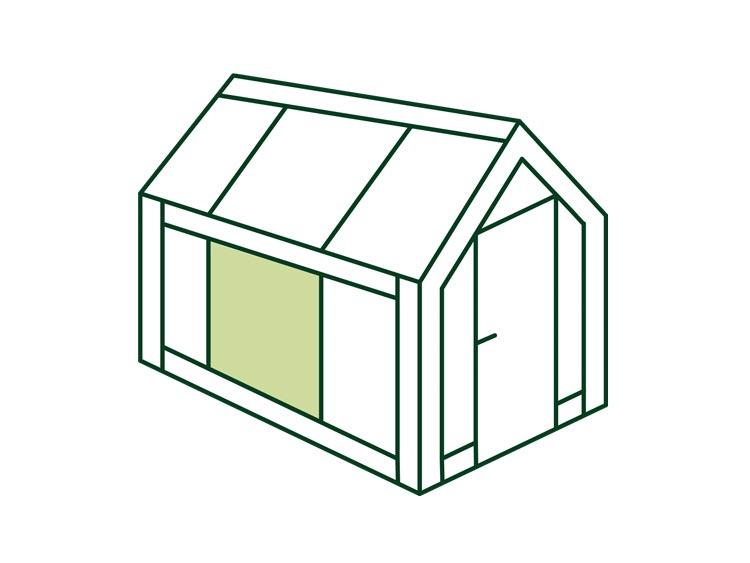 Gewächshaus Material